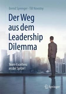 Buchcover Bernd Sprenger, Till Novotny: Der Weg aus dem Leadership Dilemma